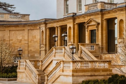 The Former Hunting Lodge of the Third Duke of Marlborough opened as a hotel for the very first time