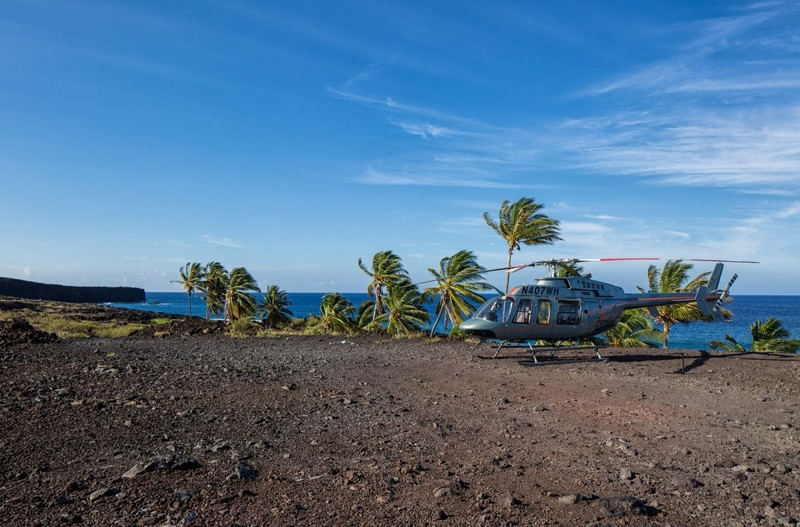 The Largest Parcel of Land for Sale in Hawaii is Listed for $18 million - helicopter