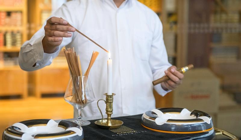 The Lighting ritual of Habano cigar 2019
