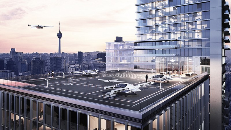 The Lilium Jet – The world's first all-electric VTOL jet -