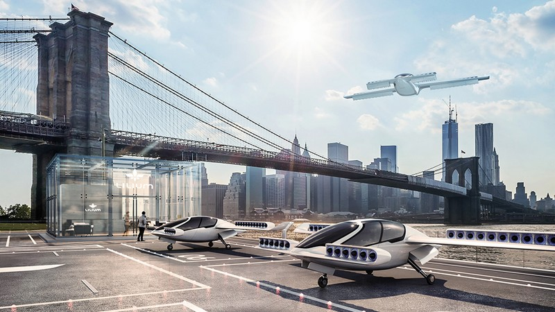 The Lilium Jet – The world's first all-electric VTOL jet - maiden flight