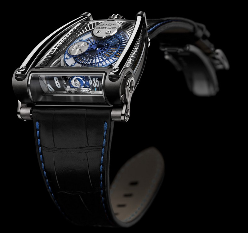 The MB&F x Sarpaneva MoonMachine 2 watch-