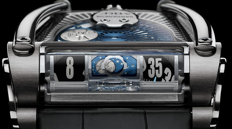 The MB&F x Sarpaneva MoonMachine 2 watch-closeup