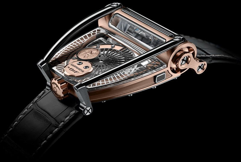 The MB&F x Sarpaneva MoonMachine 2 watch