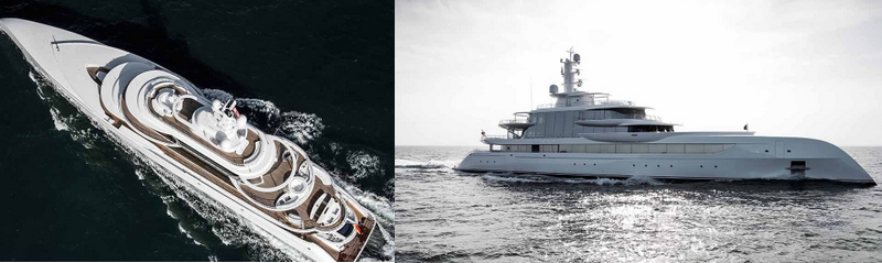 The MYS Exterior Design Award was presented to Excellence yacht