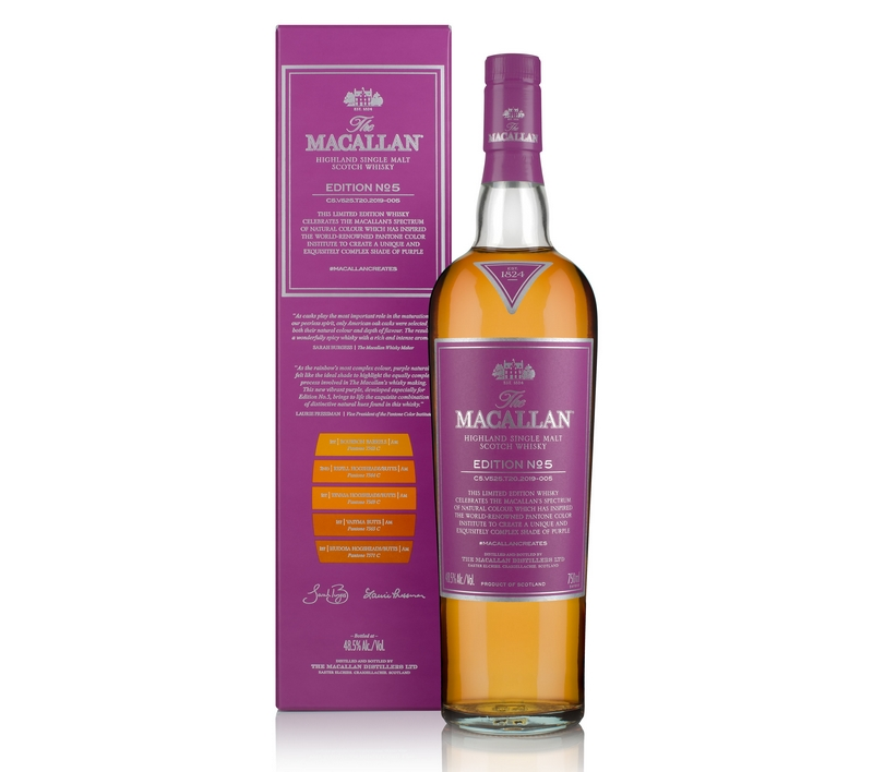 The Macallan Edition Purple - A Celebration of Natural Color in Partnership with Pantone Color Institute-2019