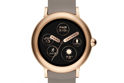 Marc Jacobs introduces its first touchscreen smartwatch into its growing line of wearables