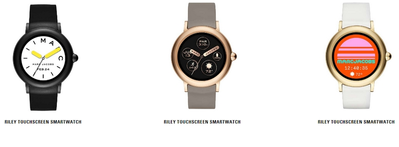 The Marc Jacobs Riley touchscreen smartwatch-collection-2018