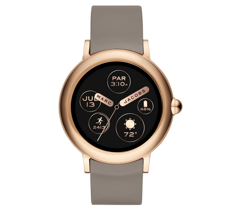 The Marc Jacobs Riley touchscreen smartwatch
