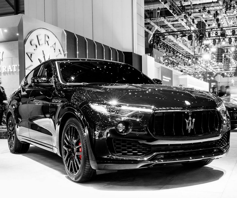 The Maserati Ghibli, Levante and Quattroporte at their darkest with the Nerissimo pack-006