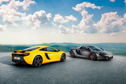 The bold McLaren 625C to be sold only in Asia