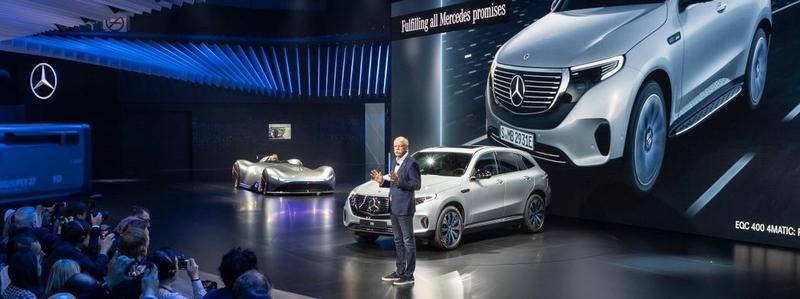 The Mercedes-Benz premieres at 2018 ParisAutoShow
