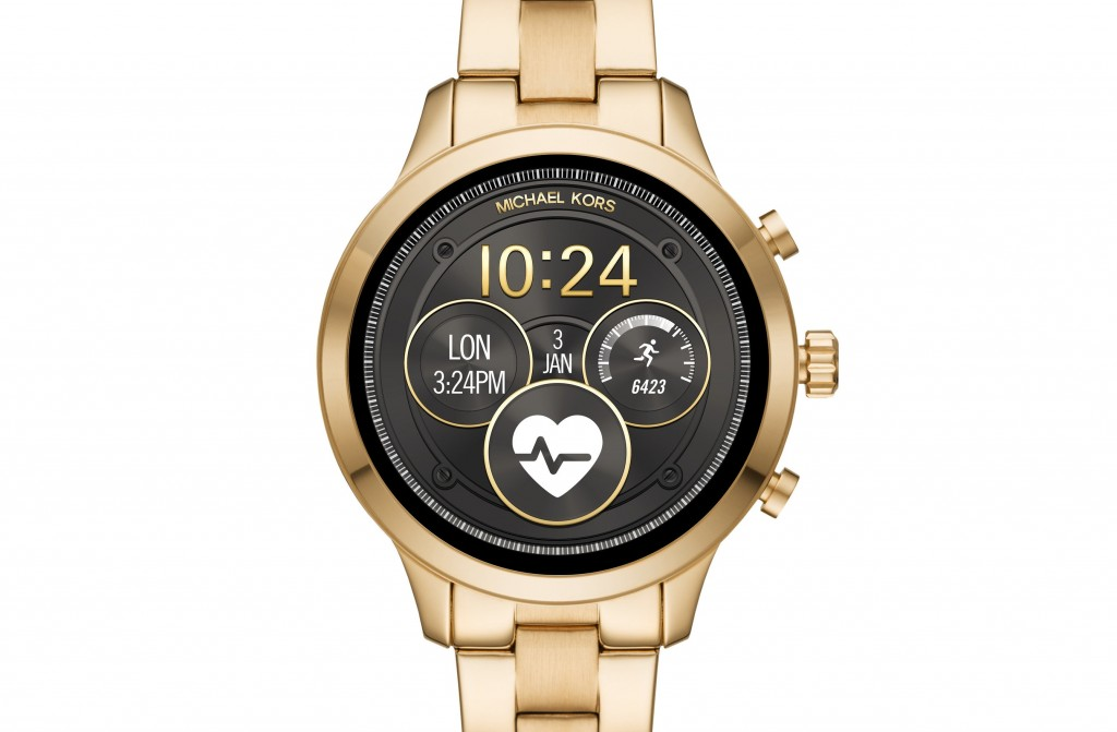 The Michael Kors Access collection continues to grow with its newest addition, the Runway Access Smartwatch,