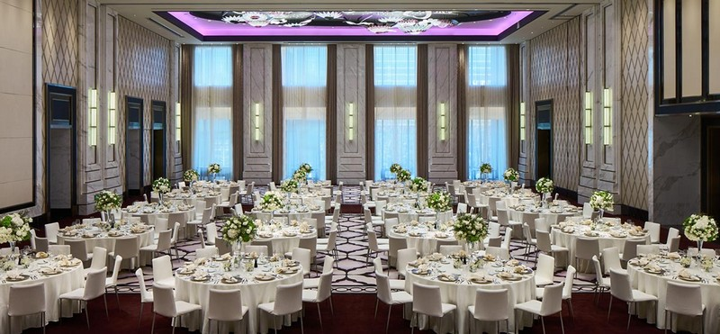 The New Bellagio Shanghai Hotel is the first overseas to follow Las Vegas Original-ballroom