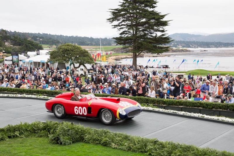 The North American celebration of Ferrari's 70th anniversary takes place at 2017 Pebble Beach Concours d'Elegance-