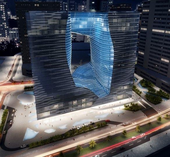 The Opus building - Me by Melia Dubai
