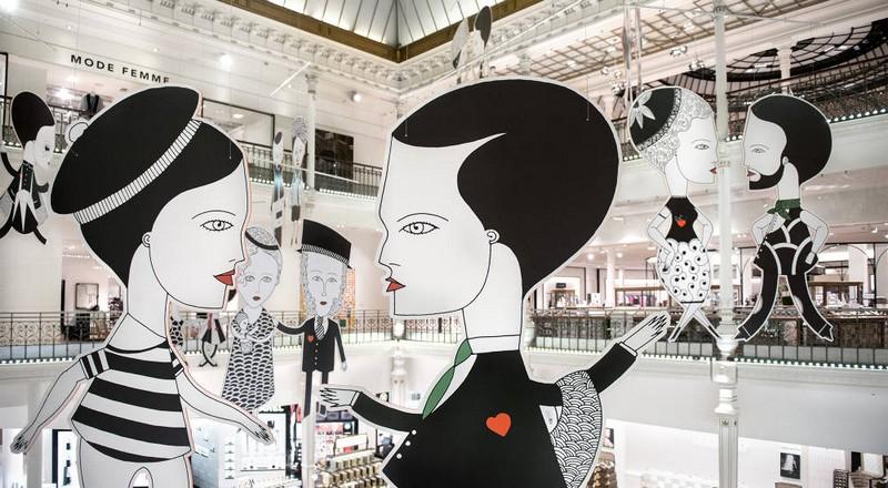 The Paris Exhibition At Le Bon March 233