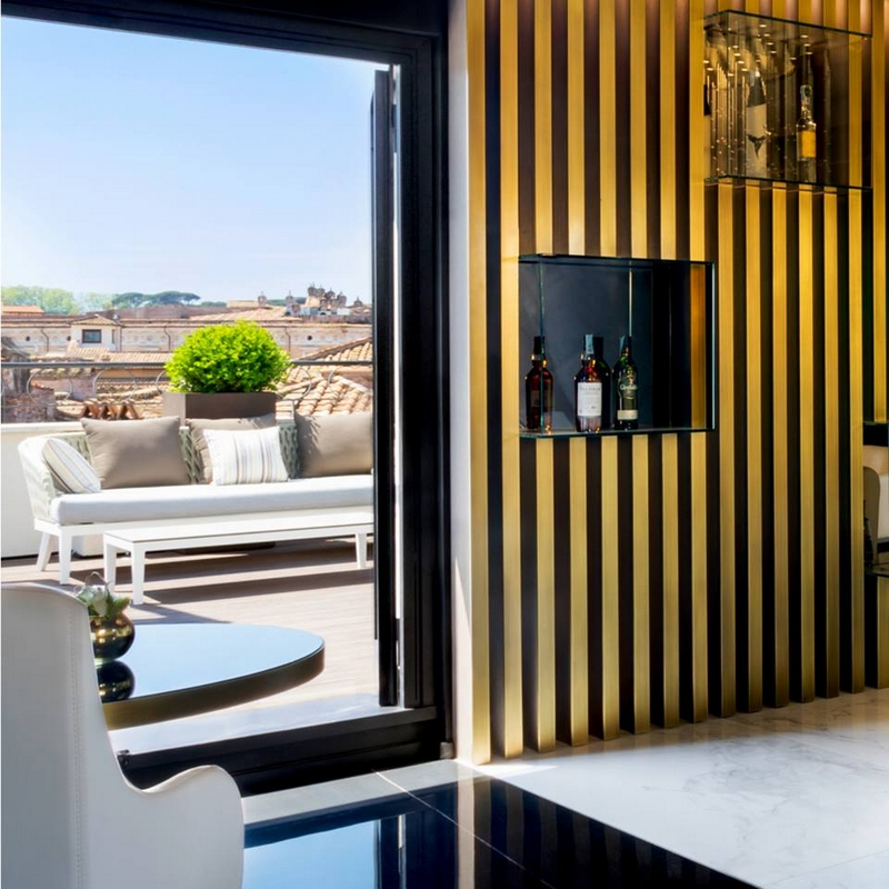 The Pantheon Iconic Rome Hotel - terrace