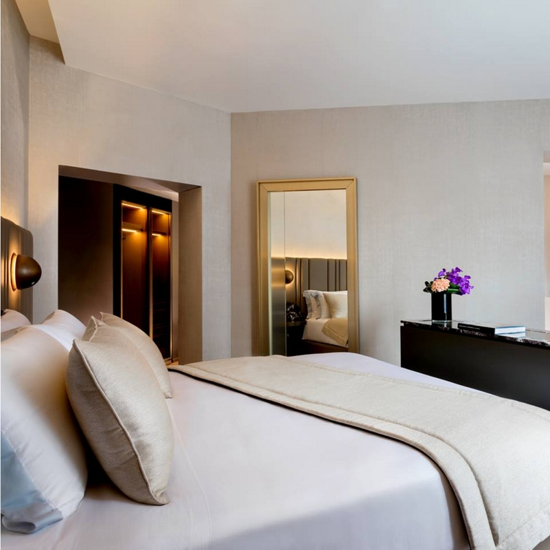 The Pantheon Iconic Rome Hotel -the special Santa Chiara Suite is both stylish and innovative