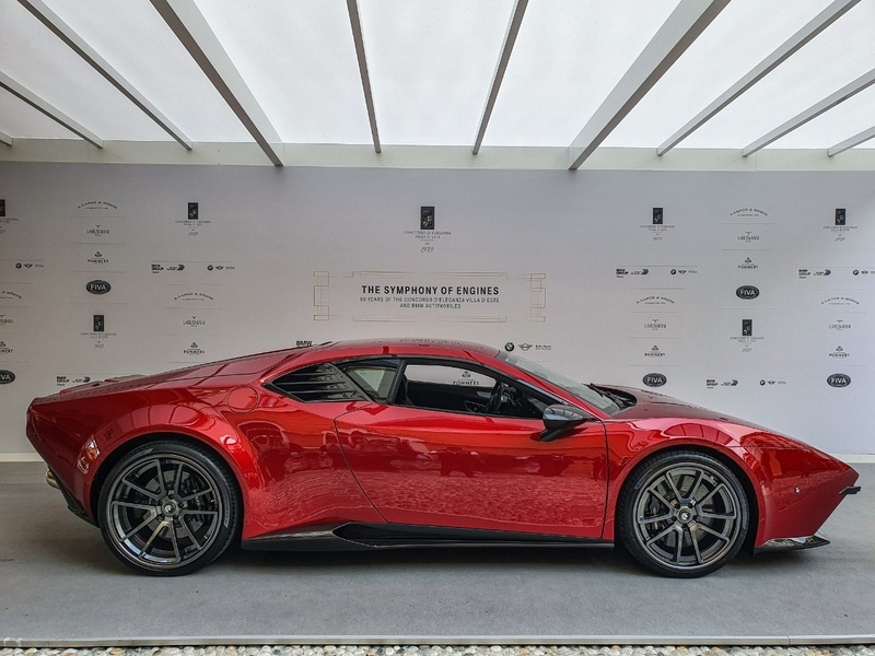 The Panther ProgettoUno at Concorso d'Eleganza Villa d'Este 2019