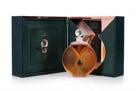 The Macallan in Lalique Six Pillars Collection. The final chapter