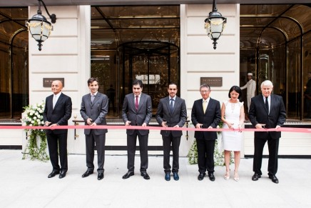 The Peninsula Paris marking the debut of The Peninsula Hotels into Europe