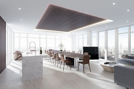 This rooftop penthouse will overlook all that's great in Manhattan