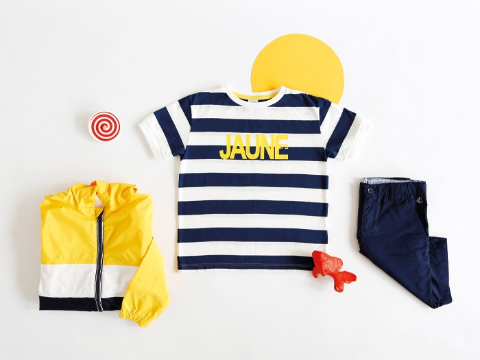 The Petit Bateau collection for spring-summer 2020