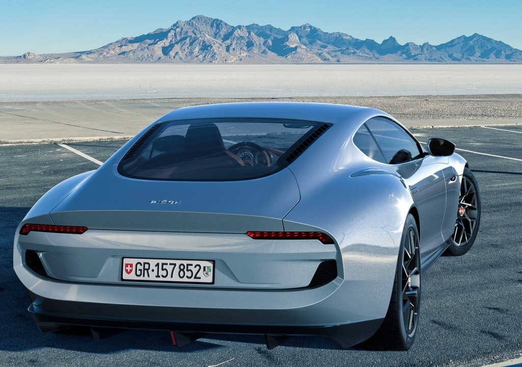 The Piëch Mark Zero takes the core design elements of the great GT sports car era-
