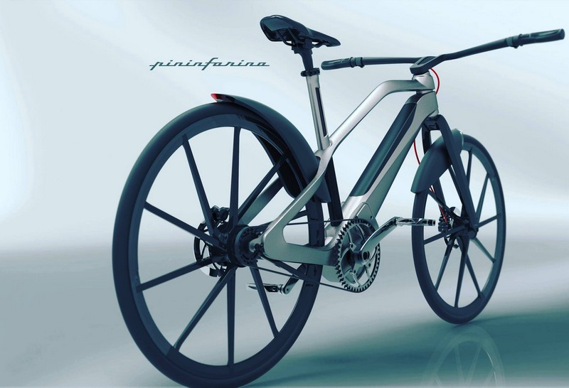 The Pininfarina E-voluzione carbon e-bike in a special limited edition