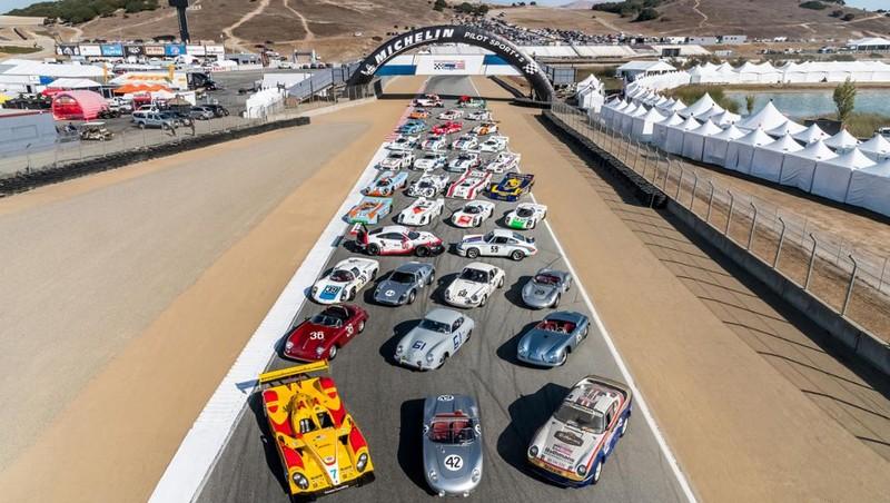 The Porsche Rennsport Reunion VI at Laguna Seca