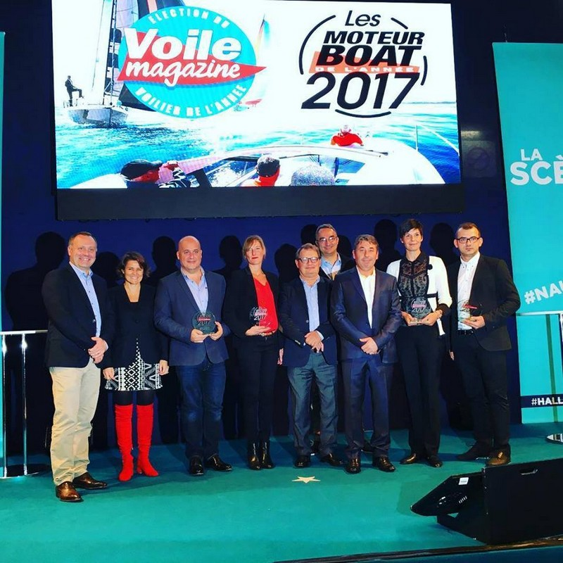 The Quicksilver Activ 605 Open wins Boat of the Year 2017 Award-ceremony