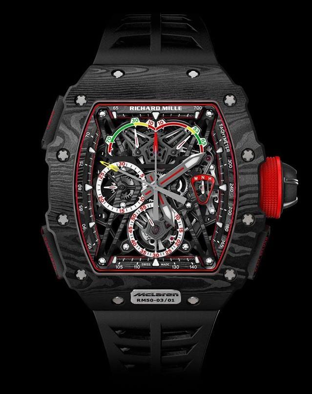 The RM 50-03 McLaren F1 watch