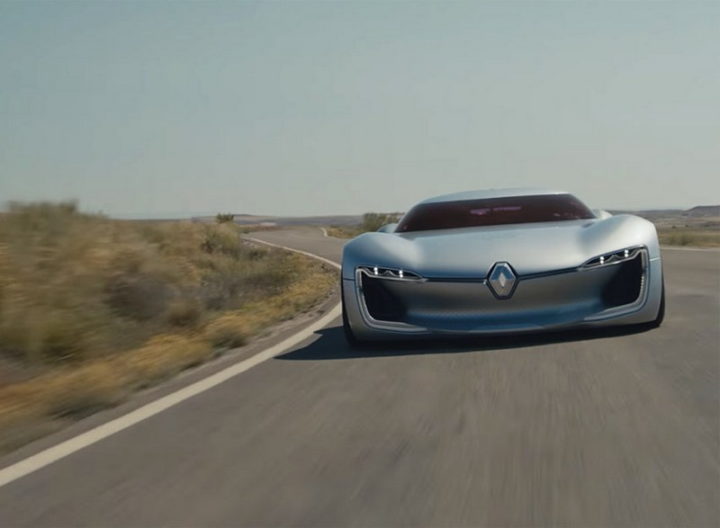 The Renault TREZOR voted Most Beautiful Concept Car of 2016-