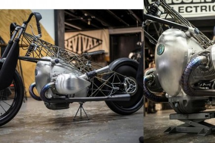 The Revival Birdcage – a fascinating custom bike built around the BMW Motorrad Big Boxer