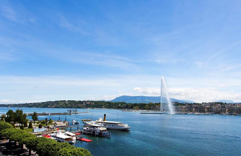 The Ritz-Carlton, Hotel de la Paix, Geneva - Geneva Panorama Jet dEau