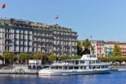 Hotel Witness to Historic World Events Transformed into First Ritz-Carlton Hotel in Switzerland