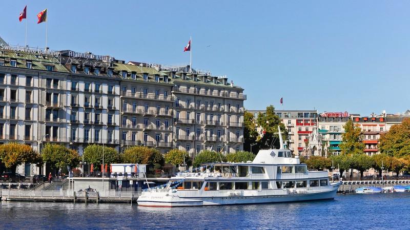 The Ritz-Carlton, Hotel de la Paix, Geneva - Geneva views
