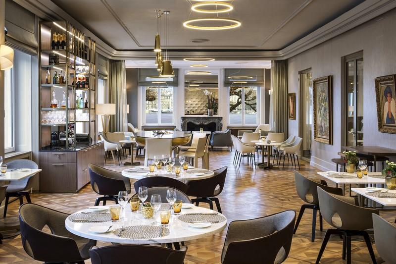 The Ritz-Carlton, Hotel de la Paix, Geneva, Living Room Bar-