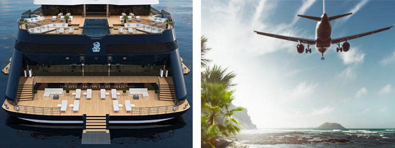 The Ritz-Carlton Yacht Collection - back-to-back voyages without repeating ports