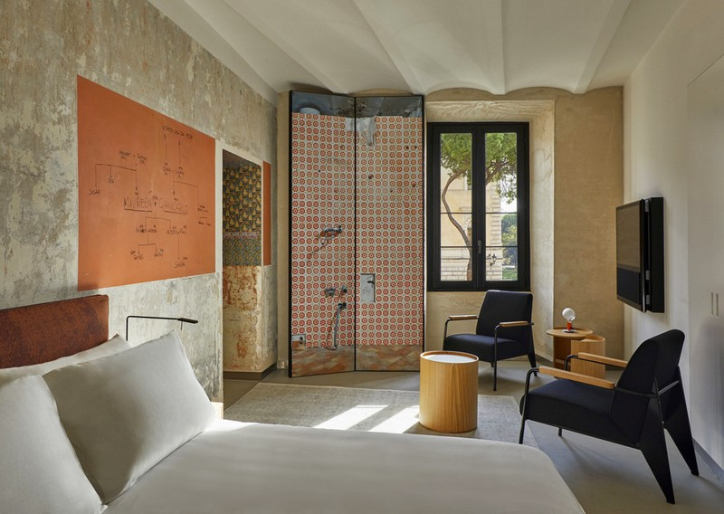 The Rooms of Rome apartment, designed by Jean Nouvel-2018