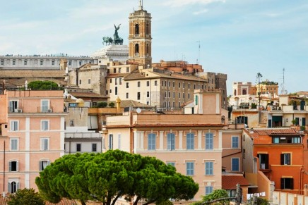 Jean Nouvel and The Rooms of Rome architecture: 24 apartments created by the French architect at the rhinoceros palace