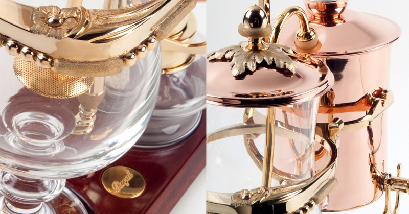 The Royal Coffee Maker from Royal Paris-tailored models