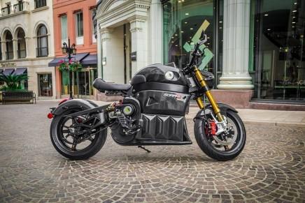 LITO SORA, 100% luxury electric motorcycle
