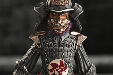 Samurai Limited Edition Montegrappa – a rare combination of fine writing instrument and decorative figurine