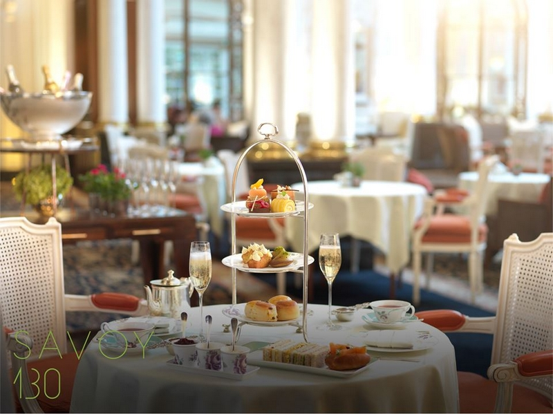 The Savoy London Afternoon Tea