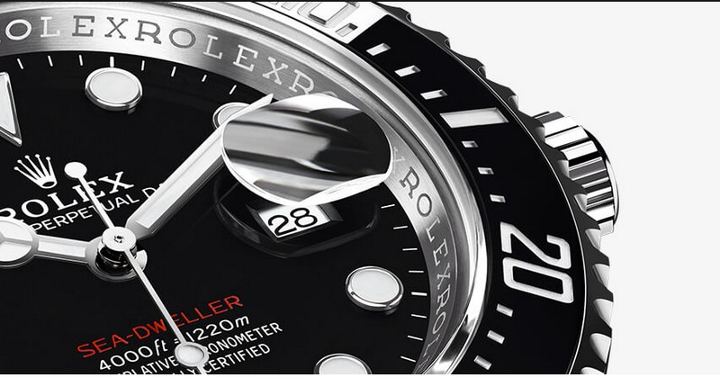 The Sea-Dweller is revisited fot its 50th anniversary in a bolder 43mm case-basel