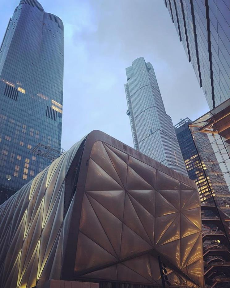 The Shed, shining in the heart of Hudson Yards NYC