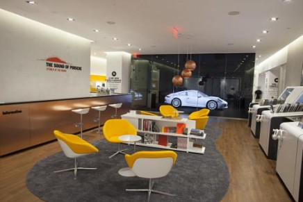 The Sound of Porsche. Porsche creating #soundofporsche pop-up modern day music store