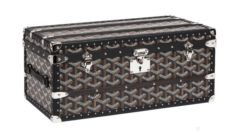 The Tourne-montre Case celebrates Goyard's most timeless aesthetic codes-